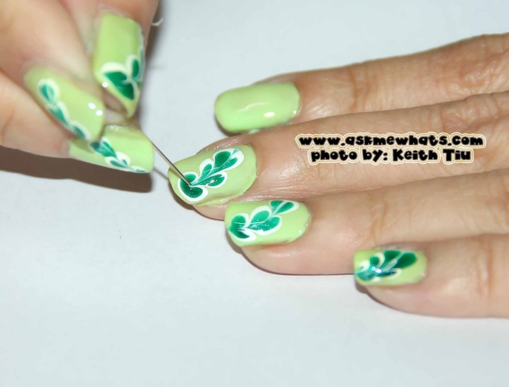 Bonito Caer Diseños De Uñas De Flores Embellecimiento - Ideas de ...