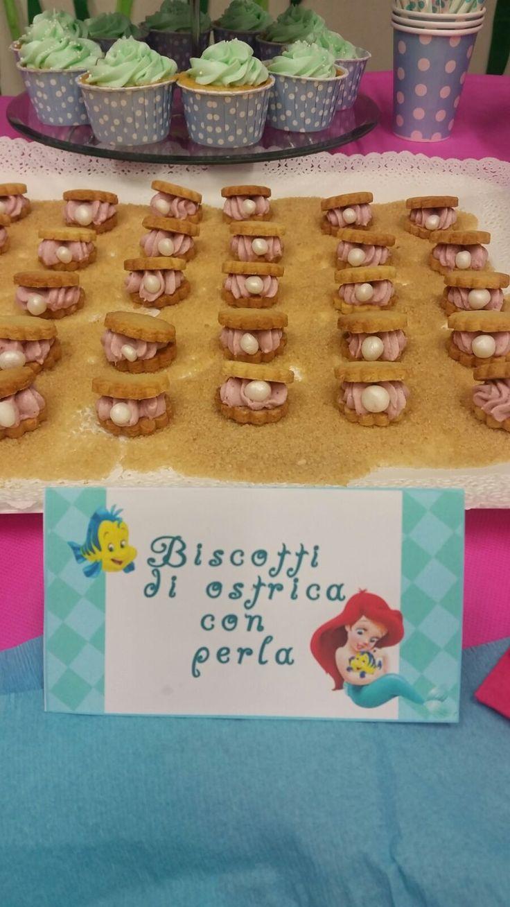 Biscotti Ostriche con perla