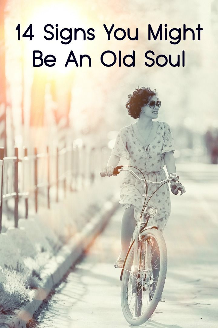 14 Signs You Might Be An Old Soul - http://facthacker.com/14-signs-might-old-soul/