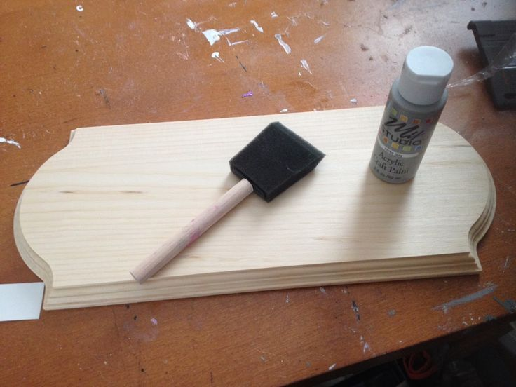 How to Put Vinyl On Painted Wood Signs (So It Actually Sticks)
