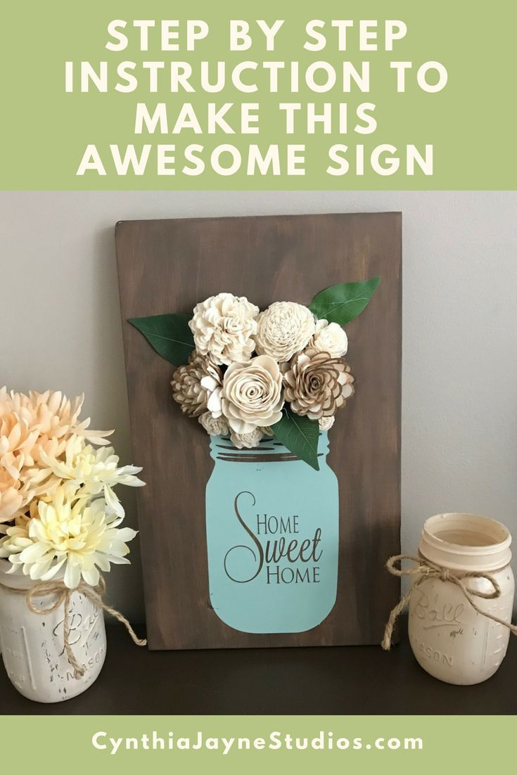What makes our Awesome Mason Jar Wood Sign so Awesome?