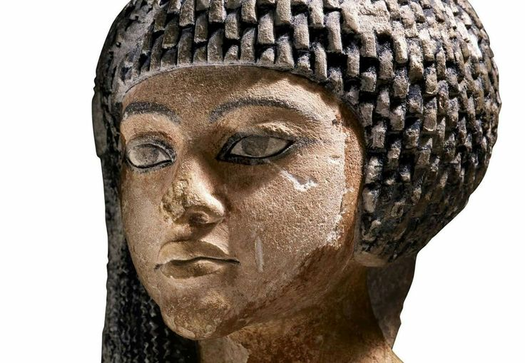 Statue of one of Akhanaten's six daughters.