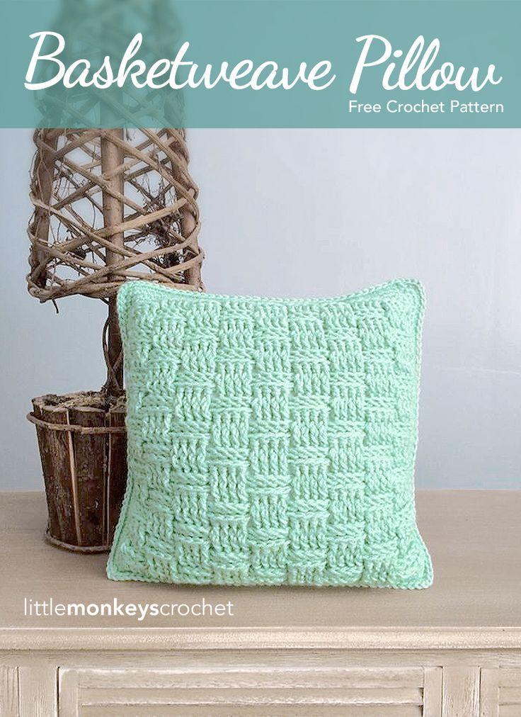 Free Crochet Patterns For Small Pillows : 25+ Best Ideas about Crochet Pillow Pattern on Pinterest ...