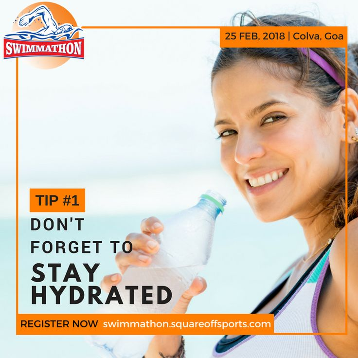 Gulping a Lot of Salty Sea Water Can Dehydrate you Faster than you can Imagine. Hence Sufficient Hydration is Must for Open Water Swimmer.   Get complete Hydration Guidelines here: http://swimindia.in/open-water-swim-hydration-guidelines  Register for #Swimmathon – Goa 2018 Now!  #SwimIndia