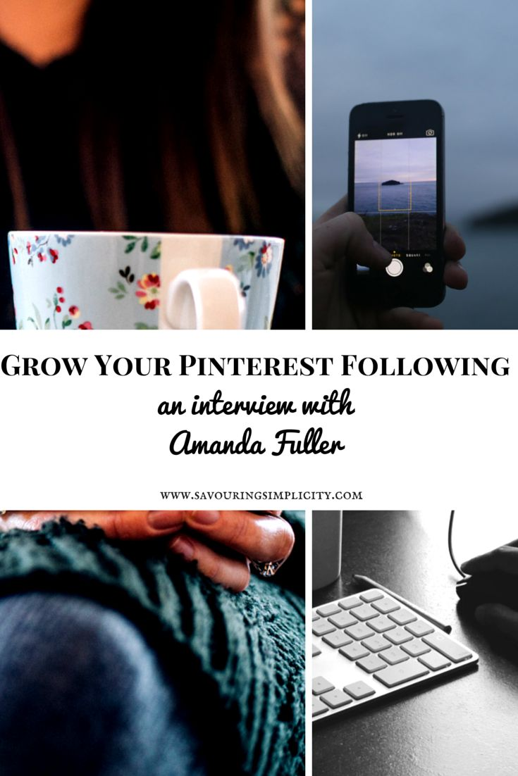 Amanda Fuller on simplifying Blogging plus how she grew a massive Pinterest following