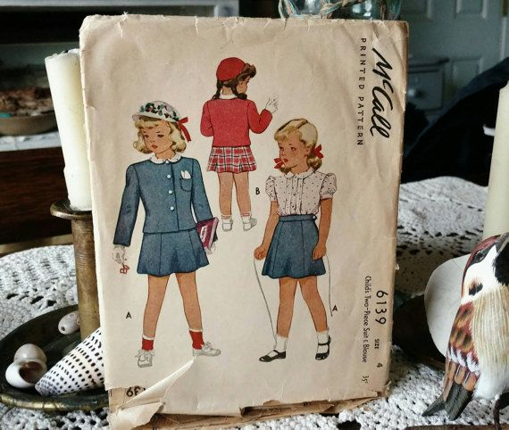 Check out this item in my Etsy shop https://www.etsy.com/listing/181267838/retro-preppy-little-girls-suit-pattern