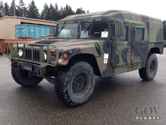 Surplus 1989 AM General M998 Humvee HMMWV in Joint Base Lewis-McChord, Washington, United States ...