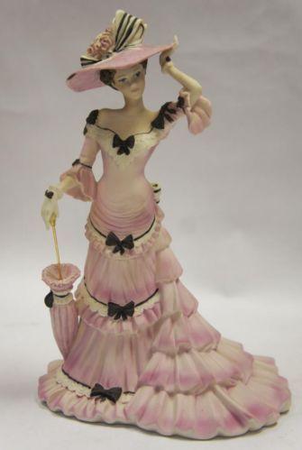 Coalport Lady Figurine A Summer Stroll Charlotte Made in England | eBay