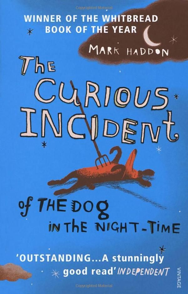 The Curious Incident of the Dog in the Night-time by Mark Haddon.  Fantastic book, not what I expected probably my favourite book of the past 20 years!
