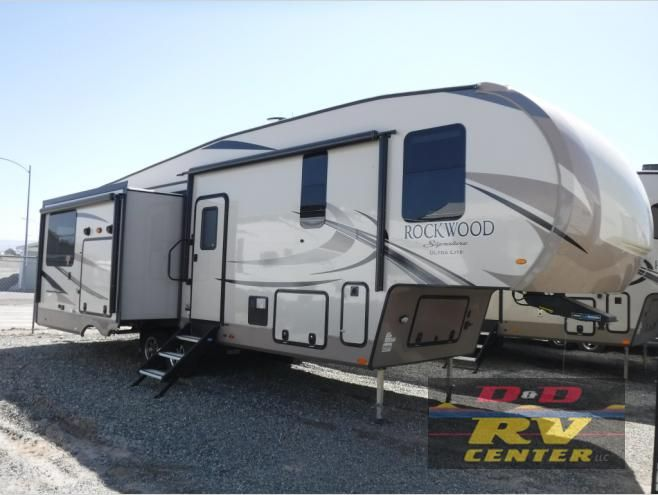 New 2019 Forest River Rv Rockwood Signature Ultra Lite 8290bs