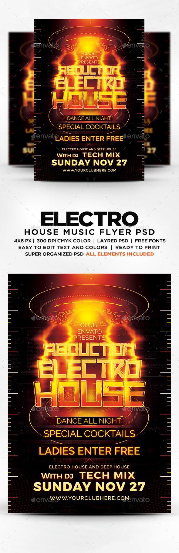 Electro house layout