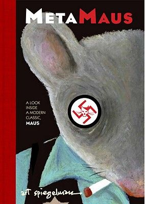 "Everyone should read Maus. This book is the equivalent to a ""director's commentary"" on a DVD.: Worth Reading, Modern Classic, Book Art, Book Title, Book Online, Book Worth, Art Spiegelman, Maus Book, Comic Art"