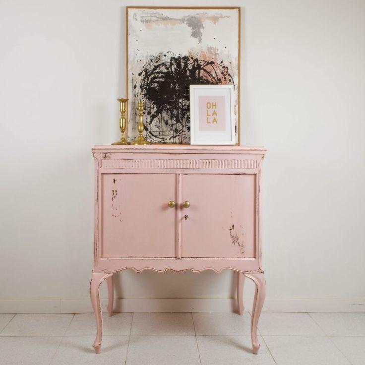 Las 25 mejores ideas sobre mesa de feria artesanal en - Muebles restaurados vintage ...
