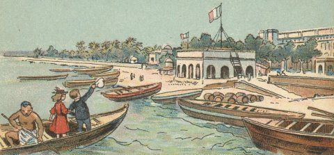 Voyage en Inde française - Pondichéry #Pondichéry #drawing #french #colony