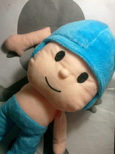Cheer Up Your Kids!: Pocoyo plush doll