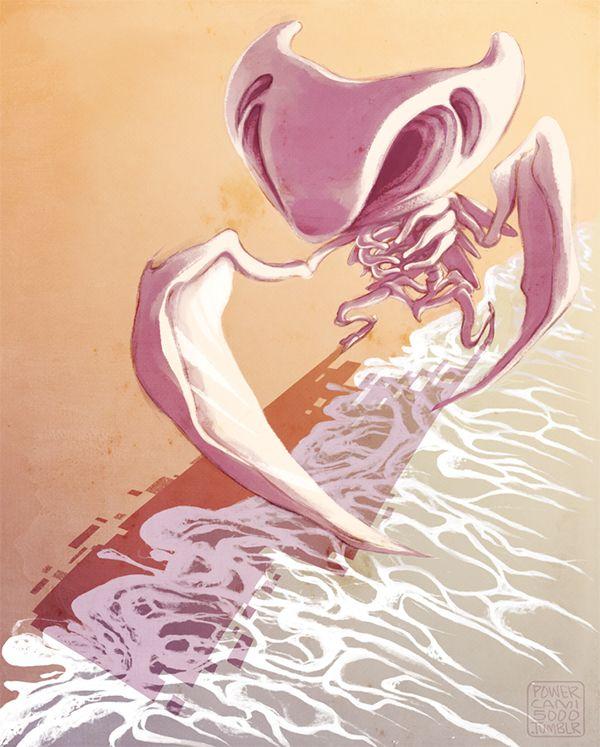 Glitch Pokezine piece - Missingno, Kabutops Fossil Form on Behance