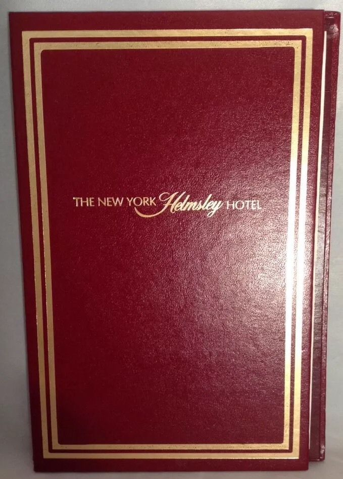 The New York Helmsley Hotel Pad Of Paper Memorabilia Collectible Creative Play  | eBay
