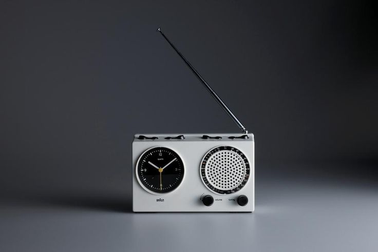 Dieter Rams designed the ABR 21 signal radio in 1978.  Picture by Koichi Okuwaki
