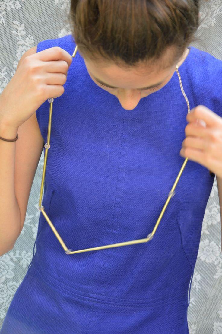 ZiZi - necklace brass