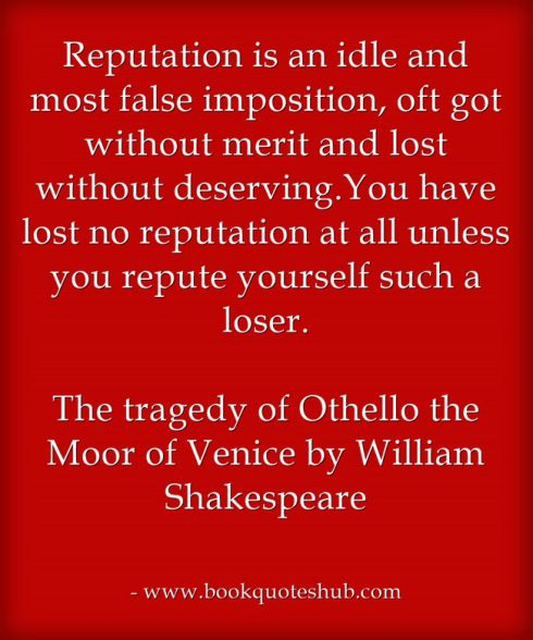 an analysis of venice in othello by william shakespeare Othello, is a very known playwright written by the famous writer william shakespeare if you are a person who have read many of his works you would.