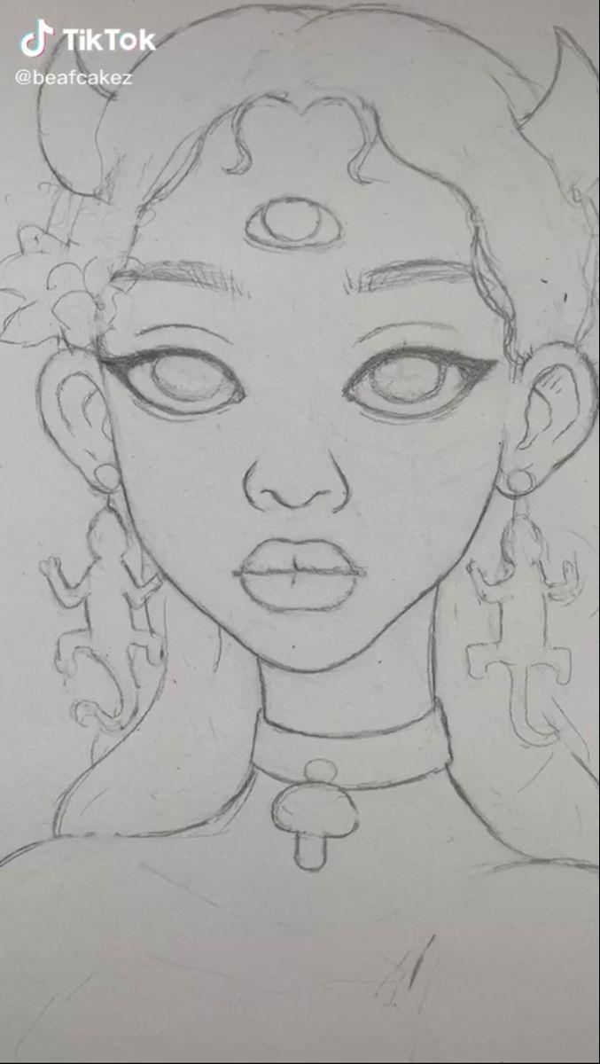 Beafcakez On Tiktok Art Sketches Cool Art Drawings Art Drawings Sketches Creative