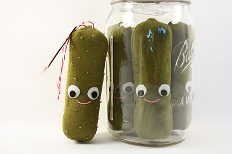 Pickles made by Holly McBride