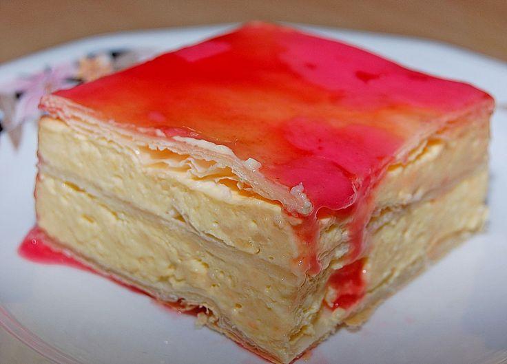 Geheime Rezepte: Altbaerlis Cremeschnitte (sehr flaumig und cremig)