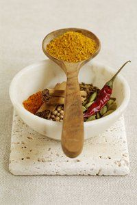 Swap ingredients in your cooking. Replace fat with herbs and spices, which will boost flavour and combat that bloated feeling. Spices like cinnamon, turmeric and ginger are great digestive aids, while rosemary treats intestinal gas.