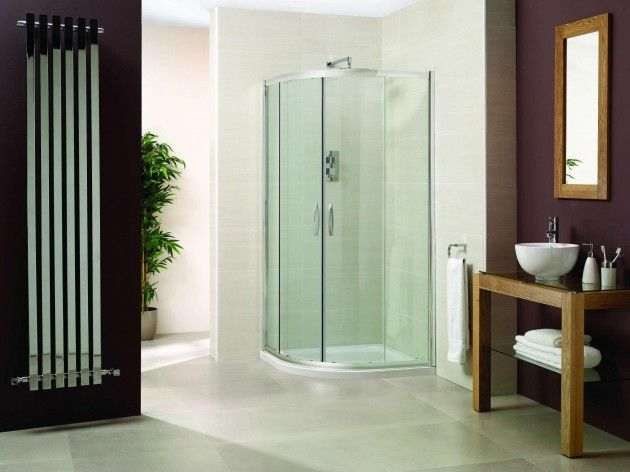 one piece corner shower stall units