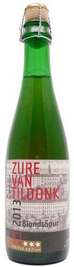 Zure van Tildonk 2013 // 8/10 // Hof ten Dormaal // Blond & Sour limited edition // aged in the Engelburcht Monastery // Belgian Sour Ale