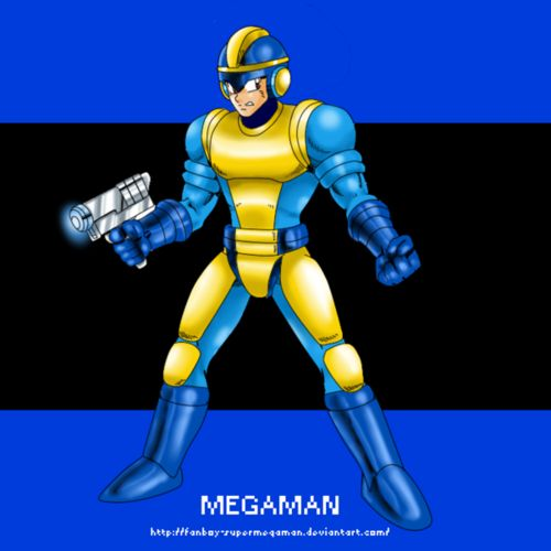 bad box art mega man | mega man #bad box art mega man #capcom #fan art