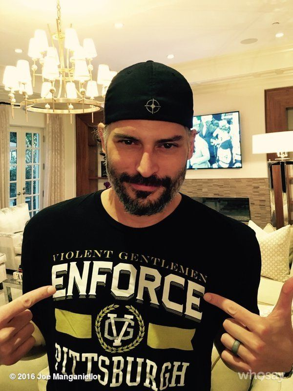 """Joe Manganiello's image - """"WE ARE THE EAST!!! CONGRATS TO MY @penguins! #StanleyCup S/O: @GeorgeParros & @ViolentGents for the lucky gear!"""" on WhoSay"""