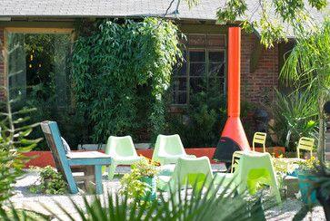 Dallas, TX: Bri and Trey Denton - eclectic - patio - dallas - Hilary Walker