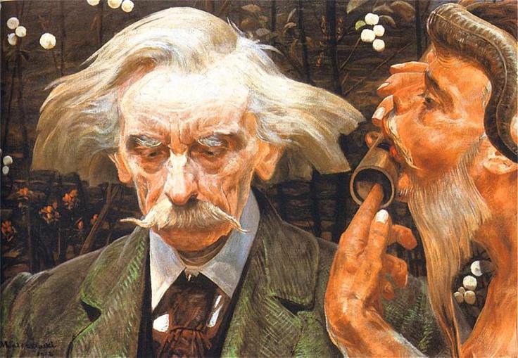 An Unknown Note - Jacek Malczewski 1902