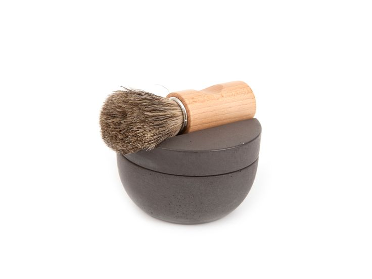 SHAVING KIT - MØRKEGRÅ by Iris Hantverk