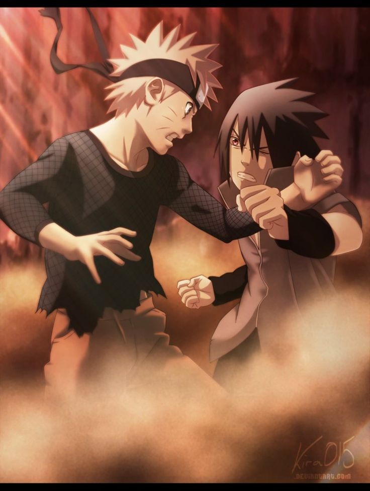 Naruto Vs Sasuke - Final Bout by Kira015