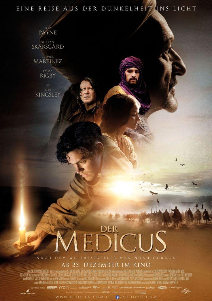 Der Medicus ist ein deutscher Film des Regisseurs Philipp Stölzl aus dem Jahr 2013, der nach dem gleichnamigen Weltbestseller Der Medicus von Noah Gordon gedreht wurde. Die Handlung ist im 11. Jahrhundert in England angesiedelt, als im dunklen Zeitalter viel Wissen verloren war, und die Kirche schwarze Magie bekämpfte. Umherziehende Bader versorgten die einfache Bevölkerung. ___ http://de.wikipedia.org/wiki/Der_Medicus_%28Film%29