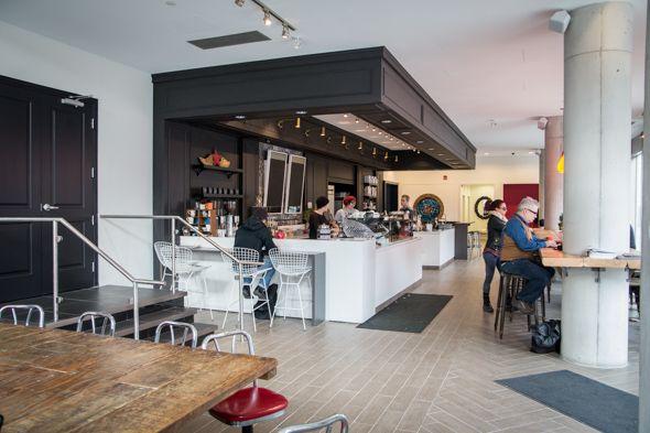 NEW Dark Horse Espresso Bar @ Queen East.
