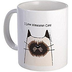 Himalayan Cat Mug - I Love Himalayan Cats Mug - Unique Coffee Mug, Coffee Cup