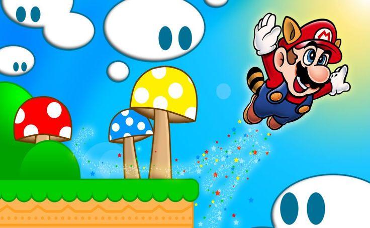 Super Mario Bros 3 Nes HD Wallpaper
