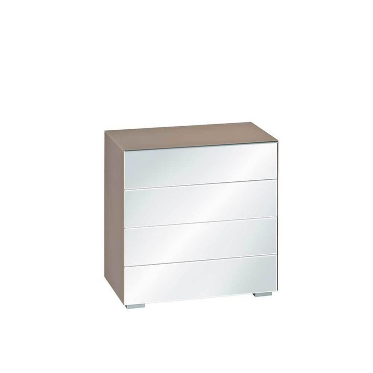 Flur Kommode in Beige Spiegelglas 80 cm hoch Jetzt bestellen unter: https://moebel.ladendirekt.de/wohnzimmer/schraenke/kommoden/?uid=28828e46-ad19-532d-8b59-58bbc23fe3ff&utm_source=pinterest&utm_medium=pin&utm_campaign=boards #schraenke #wohnzimmerkommode #schlafzimmerkommode #kommoden #wäschekommode #küchenkommode #flur #herrenkommode #garderobenkommode #flurkommode #schubladenkommode #wohnzimmer #kommode #schubkastenkommode #schlafzimmer