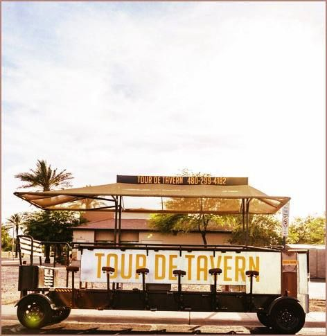 Tour de Tavern - bikes act as the perfect pub crawl and are specifically engineered for maximum safety and fun.