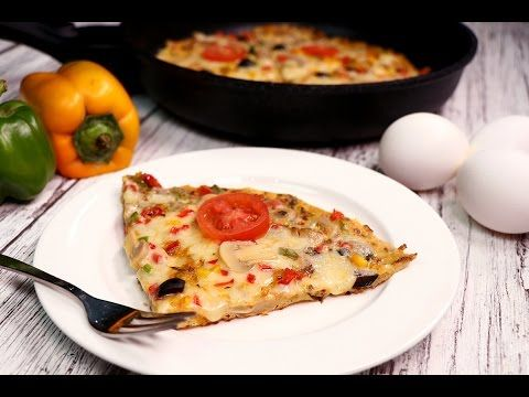 Omelette Pizza - Omelette Pizza Recipe - Sooperchef - YouTube