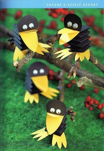 Raven, dié zijn leuk!