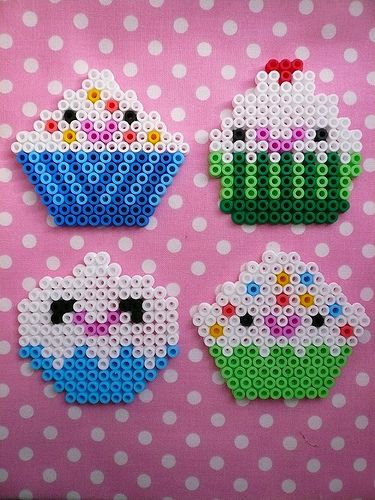 OMG, @MsMooreinDC ... did you know they still made these?? hama beads by minitoko, via Flickr