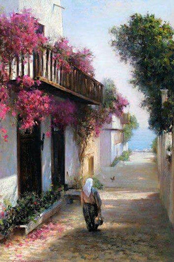 Javad Soleimanpour  Iranian painter born in 1965, Tebriz.