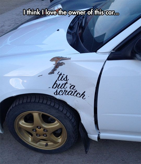 He Embraced His Car's Imperfection