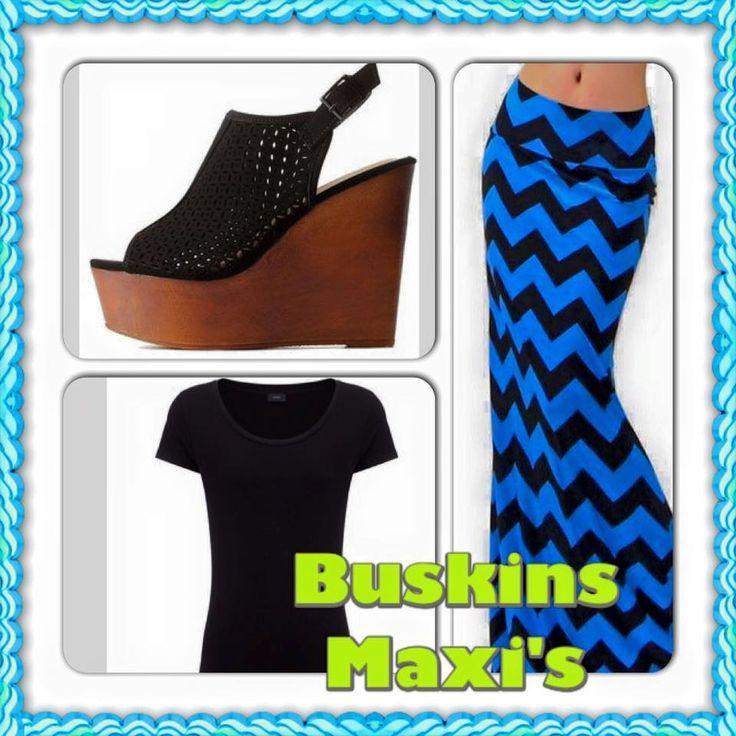 """""""$24 Maxi skirts. www.laurnetleggings.com"""