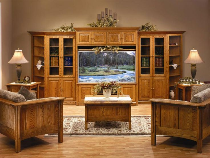 Family Room With Shaker Style Furniture Including TV Stand And Chairs With  Tables Shaker Style Furniture Part 22