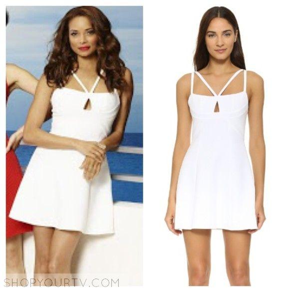 Mistresses: Season 4 Promo April's White Crisscross Dress